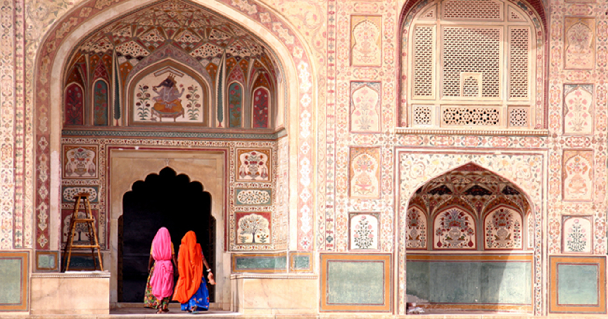Veduta del Amber Fort, a Jaipur